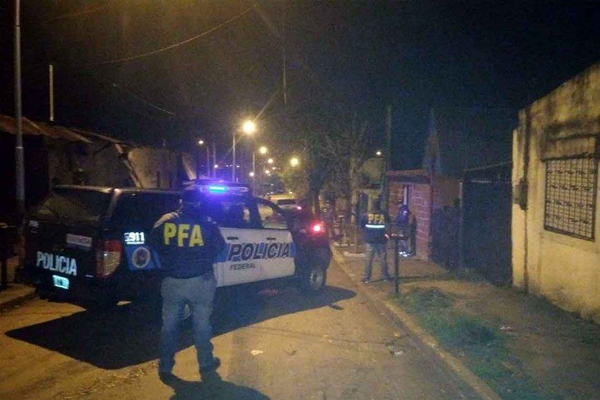 Operativo en el barrio Pancho Ramírez