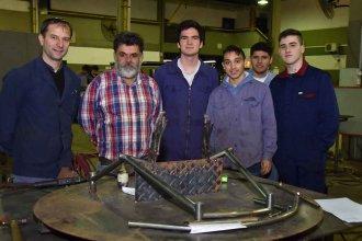 Docentes y alumnos de la Técnica 1 de Colón construirán una silla de ruedas adaptada al básquet
