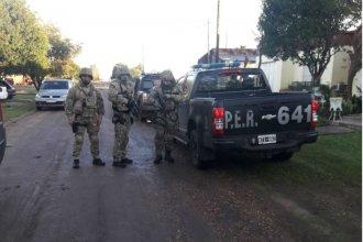 Allanamientos en cinco ciudades entrerrianas: hay tres detenidos y casi 90 identificados por narcotráfico