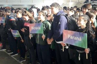 Más de 500 estudiantes de toda la provincia compiten en los Interescolares de Handball