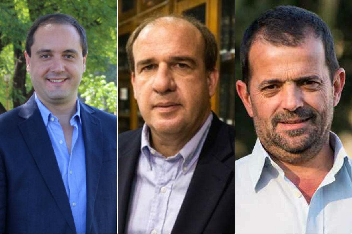 La Madrid, Vitor y Kneeteman, diputados.