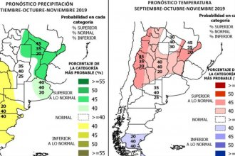La primavera traería calor y lluvias abundantes, según los pronósticos