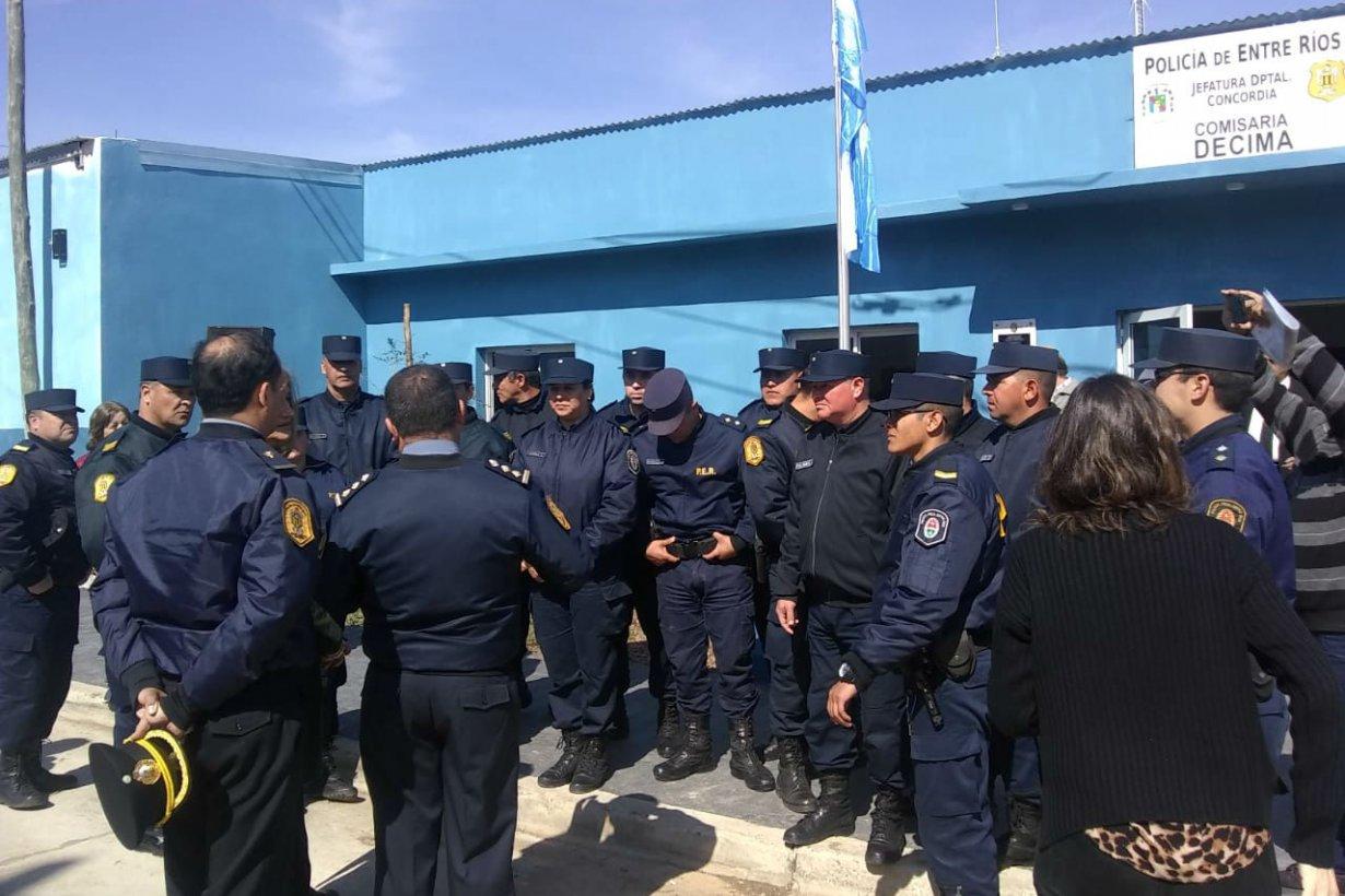 El 15 de agosto se inauguró la Comisaría Décima.