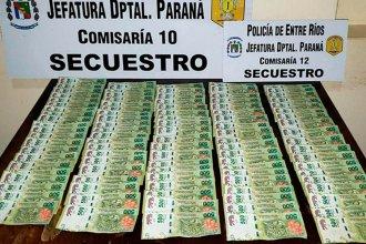 Una mujer encontró 50 mil pesos y los devolvió, pero fue engañada
