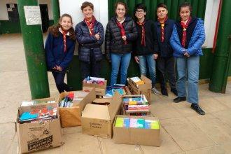 Juntaron más de 500 cuadernos para colaborar con los alumnos de una escuela de Concordia