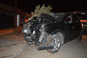 Cinco menores protagonizaron violento accidente en ciudad entrerriana y dos de ellos están en grave estado
