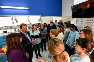 Bordet visitó las remodelaciones de la Sala de Cuidados Paliativos del Hospital San Roque de Paraná