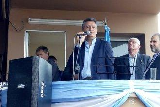 """En el inicio de campaña, Etchevehere visitó la Expo Rural de Chajarí y pidió """"no volver al pasado"""""""