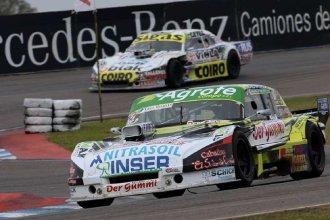 En Rafaela, un piloto entrerriano ganó su primera carrera y otro protagonizó un impactante accidente