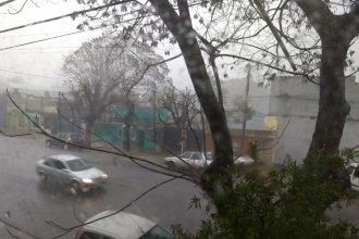 Cayeron 110 milímetros en Concordia, hay alerta de más lluvias y Defensa Civil monitorea los barrios