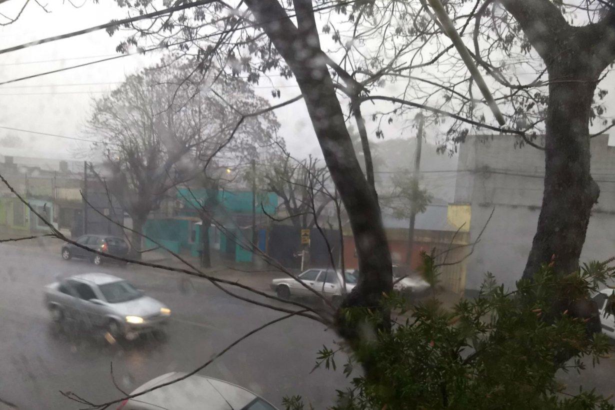 La lluvia no cesó en las últimas 12 horas.