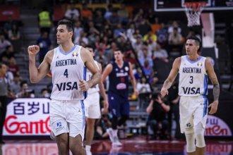 Argentina jugó un partidazo y derrotó a uno de los candidatos para meterse en semifinales