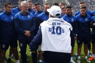 """""""Maradona te moviliza"""", dijo el profesional entrerriano que será parte del equipo técnico de Gimnasia"""
