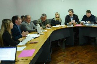 Senadores analizaron con Ballay la coparticipación para comunas