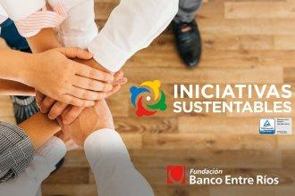 Fundación Banco Entre Ríos seleccionó ocho proyectos sustentables de instituciones