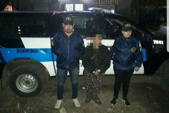 La rastrearon en ciudad entrerriana con un pedido de captura en Buenos Aires