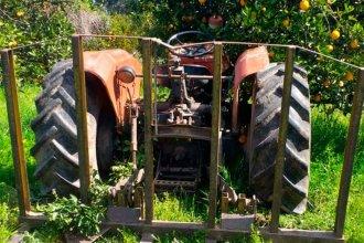 """Su tractor lo """"pasó por encima"""" cuando intentaba hacerlo arrancar"""