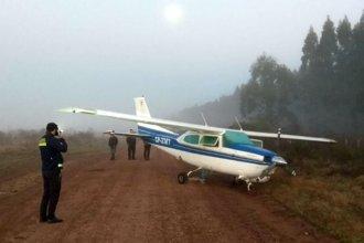 Brasileño fue detenido por presunto vínculo con avioneta abandonada en la costa del Uruguay