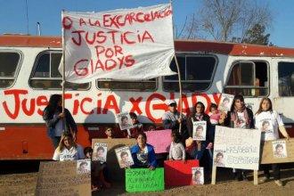 """Marcharon pidiendo justicia por Gladys Moledo: familiares viajaron a Tierra del Fuego """"para darle cristina sepultura"""""""