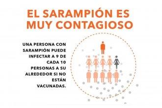 Luego de los casos de sarampión confirmados en el país, desde el San Benjamín recuerdan la importancia de la Triple Viral