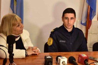 """Un cabo de la policía reanimó a un bebé que se había ahogado: """"Si él no estaba, el bebé no se hubiese salvado"""""""
