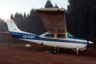 El misterio de la avioneta abandonada: primero cayó preso un brasileño y horas después detuvieron a un boliviano