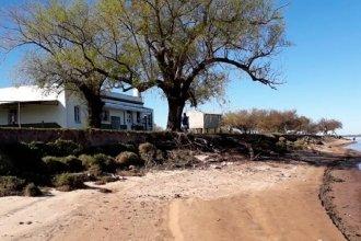 Una escuela entrerriana está en peligro y podría desaparecer ante el inminente avance del río