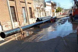 Por obras en las cañerías, una zona de Concordia podría sufrir restricciones en el suministro de agua
