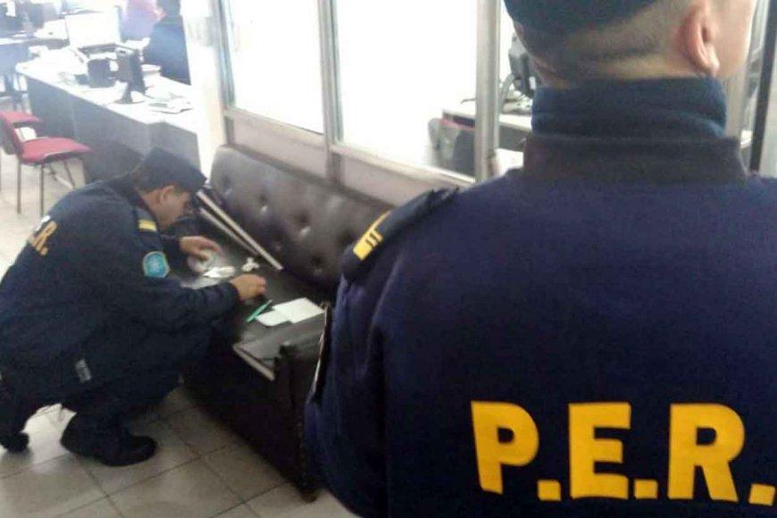 Policías buscan huellas en el PAMI