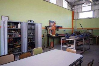 De la teoría a la práctica: inauguraron aulas taller construidas por estudiantes secundarios