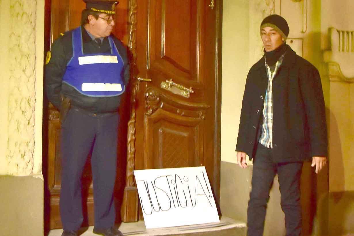 El reclamo de justicia en la puerta de tribunales