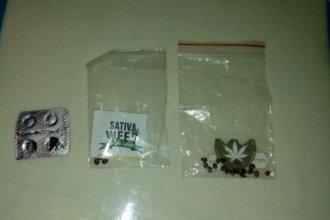 A La Criolla llevó marihuana en pastillas y semillas, en la previa a la Fiesta de los Estudiantes
