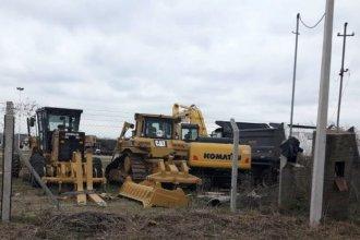 Antes de cruzar al Uruguay, la constructora de UPM 2 hace escala en Gualeguaychú