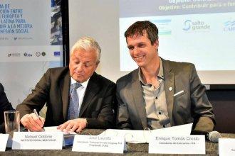 Concordia firmó junto al Comité de la Cuenca del Río Uruguay un convenio de cooperación internacional