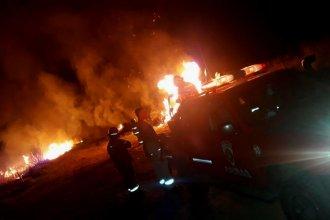Las llamas cubrieron alrededor de 20 hectáreas y llevó más de 5 horas apagar el fuego