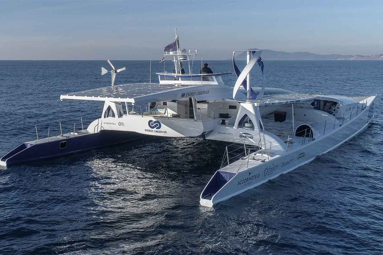 Energy Observer, barco a hidrógeno