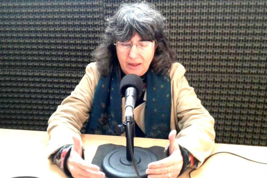Ortea, durante su última visita a Radio 12.