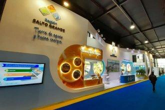 Desde la Feria Internacional, Salto Grande fomenta el turismo en la región