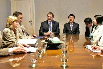 El embajador de China visitó Concordia y habló con funcionarios sobre el futuro de la ciudad