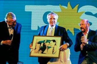Bordet y Urribarri, presentes en el acto del PJ: ¿Cuál fue el pedido de Fernández?
