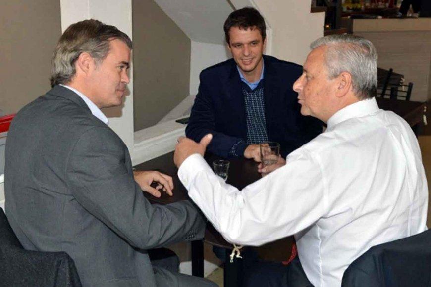 Cresto con Piaggio y Lauritto