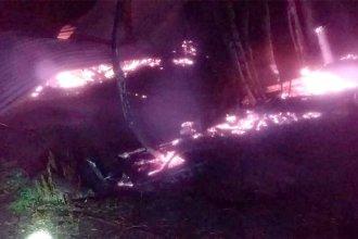 Tenía 90 años y no logró escapar de las llamas que consumieron su vivienda