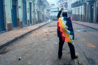 Desde Ecuador, antropóloga entrerriana contó cómo son los días de protesta y represión