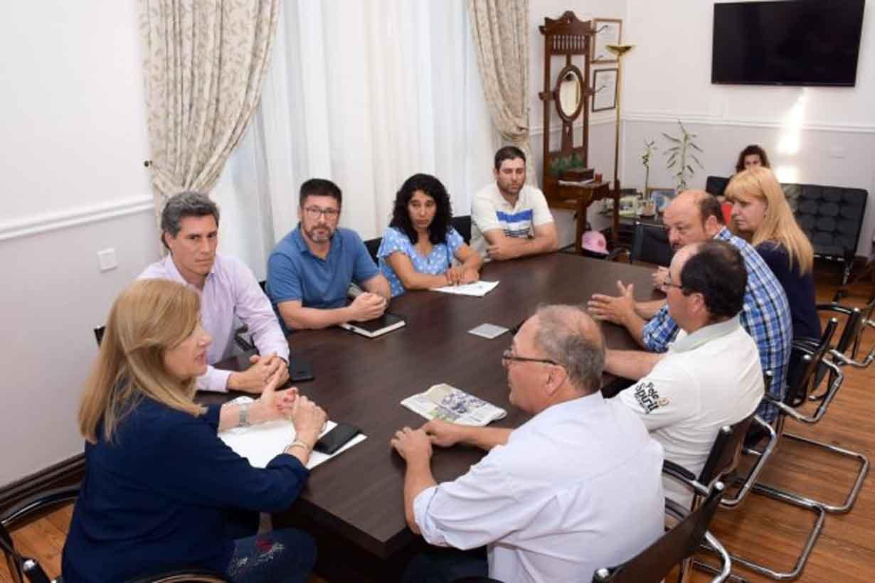 Federación Agraria con la ministra Romero