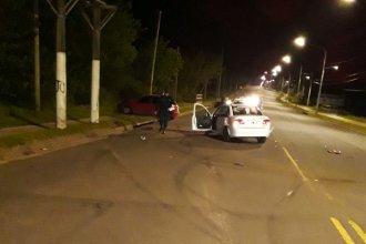Concordia: un choque sobre una avenida terminó con dos personas hospitalizadas