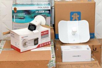 Distribuyeron más de 100 cámaras entre 17 municipios, que serán monitoreadas por la Policía