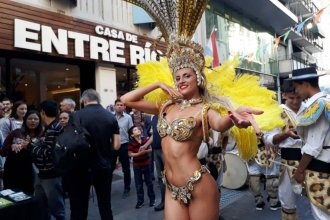 Las fiestas concordienses, promocionadas en Buenos Aires