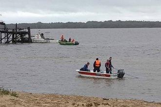 Encontraron el cuerpo del adolescente que se había tirado desde un muelle sobre el río Uruguay
