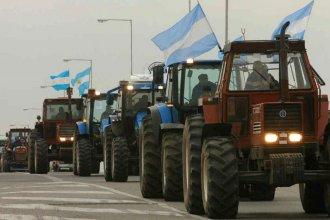"""Vuelve el """"tractorazo"""" del campo a la ruta: """"La economía no da para pagar más impuestos"""""""