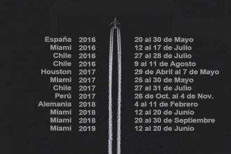 """Los vuelos reservados de Cresto: viajó 6 veces a USA y justificó sus ausencias por """"temas relacionados con la administración municipal"""""""